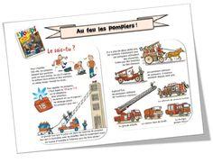 Au feu les pompiers  CP