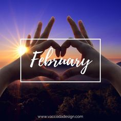 Another brand new month is here! Print Design, Graphic Design, Seo Agency, Web Design Agency, New Month, Online Marketing, February, Design Inspiration, Branding