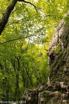 Wieder einmal am Fels - by Urs Kyburz #Schweiz #Klettern