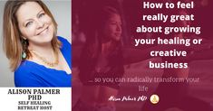 Visit our website to learn more about Alison Palmer Mental Health, Health Care, Self Exploration, Transform Your Life, Self Healing, Art Therapy, Creative Business, Healthy Lifestyle, Bodybuilding