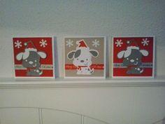 Voorbeeldkaart - Kerskaarten hondje - Categorie: Kerstkaarten - Hobbyjournaal uw hobby website