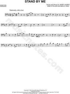 Stand by Me sheet music by Ben E. Trumpet Sheet Music, Sheet Music Stand, Clarinet Sheet Music, Saxophone Music, Printable Sheet Music, Digital Sheet Music, Trombone, Music Backgrounds, Jazz Band