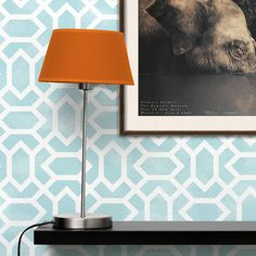 The Atlas Allover Moroccan Stencil is a geometric trellis stencil pattern with personality to spare. Equally at home in global-inspired and contemporary interio