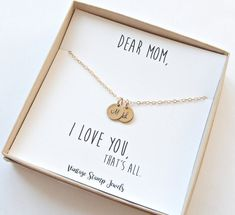 Gift for her/ Mothers Day Gift/ Womens Gold by vintagestampjewels