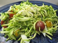 Zucchini Salad - Soups  Salads -  - paleo diet, paleo, recipe, nutrition, robb wolf, scott hagnas, weight lifting, strength, conditioning, fitness, greg everett - Catalyst Athletics Recipes