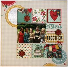 A Technique Tuesday & Simple Stories Homespun Layout by Mendi Yoshikawa