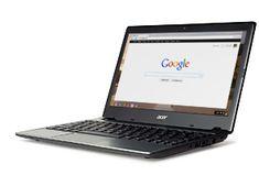 The new Acer C7 Chromebook – For Everyone, portátil muy barato con el sistema operativo Chrome