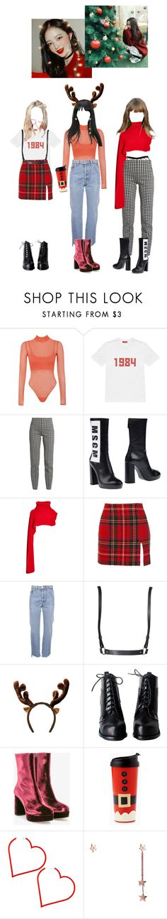 """Untitled #36"" by beyzalwaysperf ❤ liked on Polyvore featuring Gosha Rubchinskiy, Sonia Rykiel, MSGM, Thakoon, Opening Ceremony, Vetements, OuiHours, Miu Miu and Latelita"