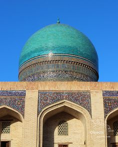 With anticipation we thought about the one road in the west of Uzbekistan, driving our car without passing any village. Islamic Architecture, In 2015, Central Asia, Taj Mahal, This Is Us, Road Trip, Around The Worlds, Building, Travel