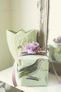 Spring Gift Wrap | by a la parisienne