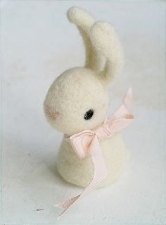 #Needle #Felt #Bunny