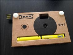 IKEA's electronics venture continues with a cardboard disposable digital camera       http://www.digitaltrends.com/photography/ikeas-electronics-venture-continues-with-a-cardboard-disposable-digital-camera/