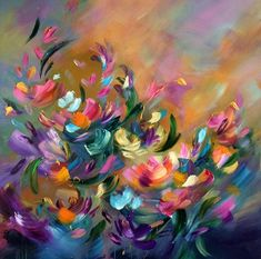 Visual art Ideas Classroom Management is part of Top Classroom Images In Art Classroom Management - Primavera (ii) Abstract Flowers, Abstract Art, Flower Painting Abstract, Peony Painting, Diy Canvas Art, Painting Inspiration, Flower Art, Watercolor Art, Art Drawings