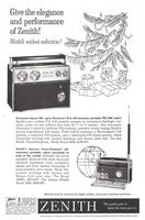 Zenith Trans-Symphony Royal 2000 Radio 1961 Ad Picture