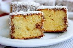 Delicate cake melting in your mouth! Very tasty, tender, soft and melting in the mouth cake. Russian Cakes, Russian Desserts, Hungarian Cake, Ukrainian Recipes, Czech Recipes, Tasty, Yummy Food, Sweet Pastries, Christmas Baking