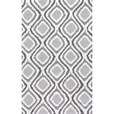 Uzbek Matthieu Hand-Hooked Grey Area Rug   Wayfair