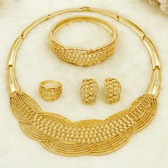 Cheap fashion jewelry set, Buy Quality jewelry sets directly from China jewelry sets fashion Suppliers: Wholesale New African Turkish  Women Jewelry Sets Wheat Charm Fashion Bride Wedding Necklace Gold Jewelry Sets Gift Box Enjoy ✓Free Shipping Worldwide! ✓Limited Time Sale ✓Easy Return.
