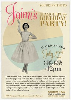 what a fun idea for a birthday party! Only something the fabulous @Karen Fiore Beauty | Jaimi Brooks could think of