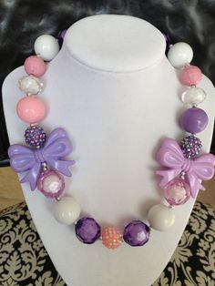 Cute chunky necklaces for little girls ;)