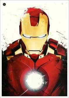 Iron Man by Florent Belmonte