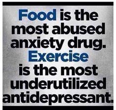 So true! #food #exercise #motivation #antidepressant #inspiration #fitness