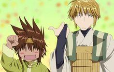 Son Goku & Sanzo