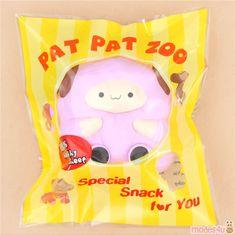 purple Jumbo Pop Pop Sheep by Pat Pat Zoo squishy - Kawaii Shop Ibloom Squishies, Pat Pat, Pop Pop, Kawaii Shop, Cute Designs, Sheep, Super Cute, Purple, Toys