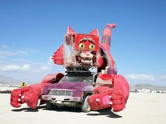 10 of the Wildest Burning Man Art Cars That Stole the Show