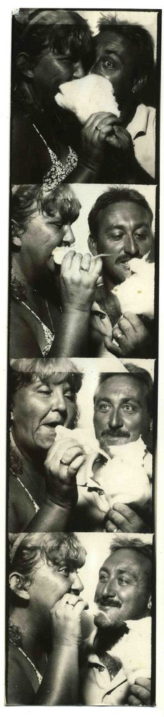 photo booth ~ these two need to lather on some sunscreen!