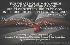 """""""For we are unto God a sweet savour of Christ, in them that are saved, and in them that perish: To the one we are the savour of death unto death; and to the other the savour of life unto life. And who is sufficient for these things? 2 Corinthians 2:15-16 KJV """"Not that we are sufficient of ourselves to think any thing as of ourselves; but our sufficiency is of God;"""" 2 Corinthians 3:5 KJV """"For we are not as many, which corrupt the word of God: but as of sincerity, but as of God, in Savior, Jesus Christ, In Christ Alone, 2 Timothy, Word Of God, Mystery, Death, Lord, Bible"""