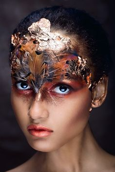 Best 25 extreme makeup ideas on avant garde face. Makeup Art, Beauty Makeup, Eye Makeup, Makeup Blush, Art Visage, Fantasy Make Up, Fairy Fantasy Makeup, Extreme Makeup, Make Up Inspiration
