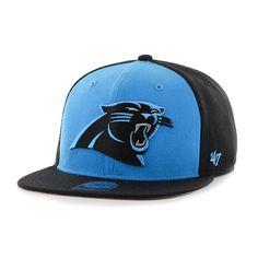 d1c7e155496 Carolina Panthers Super Move Captain Black 47 Brand Adjustable Hat