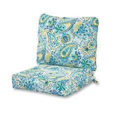 Greendale Home Fashions Deep Seat Cushion Set - OC7820-BALTIC