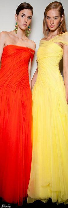 ♛ ♛  VIP Pass Backstage Fashion Show  {backstage}  ♛ ♛    Models: Vanessa Moody & Sanne Vloet for Ralph Lauren Spring 2015 Backstage