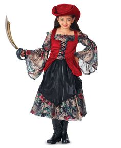 Trick or Treat Pirate Girls Costume from BuyCostumes.com    #howdouhalloween @BuyCostumes.com Costume Crazy #pirates #wench