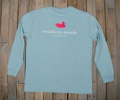 http://www.southernmarsh.com/collections/long-sleeve-tees/products/southern-marsh-authentic-long-sleeve?color=Seafoam& Color: Seafoam Size: Small