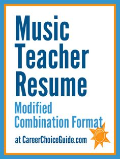 Teaching Sample Resume 15 A Teacher Resume Samples With Matching Cover Letters  Cover .