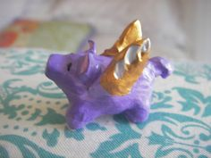 PURPLE WINGED PIG  Because pigs will fly someday hand by BlueOpera, $10.00