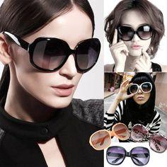 New 3 colors Women's Retro Vintage Shades Fashion Oversized Designer Sunglasses