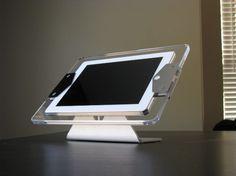 Table stand I-Pad Kiosk Information Kiosk, Digital Signage, Ipad, Display, Table, Digital Signature, Floor Space, Billboard, Tables