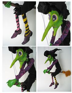 Wicked Witch of the West | These marionettes are some of the… | Flickr