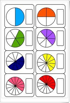 Maths help: conversion chart for fractions, percentages and decimals. 3rd Grade Fractions, Fractions Worksheets, Kids Math Worksheets, Math Fractions, 1st Grade Math, Multiplication, Montessori Math, Homeschool Math, Math Games
