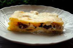 lasagna funghi provola salsiccia