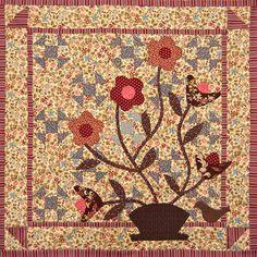 fall-garden-quilt - Pat Sloan