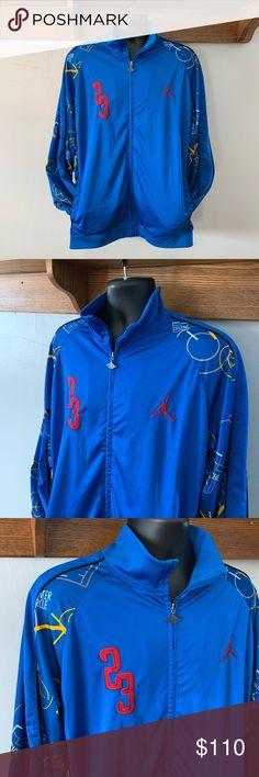 908da05c98e *RARE* Vntg 90's Jordan Playbook design jacket 3XL *RARE* Vntg 90's Jordan