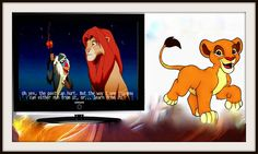 The Lion King    The Past Can Hurt, But The Way I See It You Can Either Run From It or Learn From It. ~Rafiki