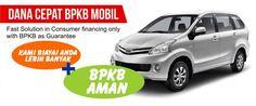 Simulasi pinjaman gadai bpkb mobil Toyota Avanza yang berlaku di Tangerang, dengan pencairan dana yang tinggi hingga 85% dan bunga angsuran ringan