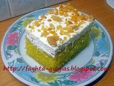 Greek Desserts, Greek Recipes, Cake Cookies, Cupcake Cakes, Cupcakes, Cookie Dough Pie, Bread Cake, Sponge Cake, How To Make Cake