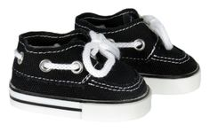 Silly Monkey - Black Boat Shoes for American Boy Doll, $6.50 (http://www.silly-monkey.com/products/black-boat-shoes-for-american-boy-doll.html)