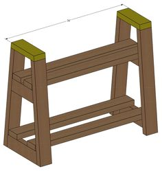 This small but mighty DIY firewood rack stand can hold a lot of firewood! See how I built this stand for my front porch in this step by step tutorial with free build plans. Firewood Rack Plans, Firewood Stand, Firewood Holder, Firewood Storage, Woodworking Projects Diy, Woodworking Plans, Diy Drawers, Wood Shed, Diy Fire Pit